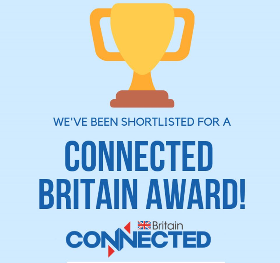 We've made the Connected Britain awards shortlist